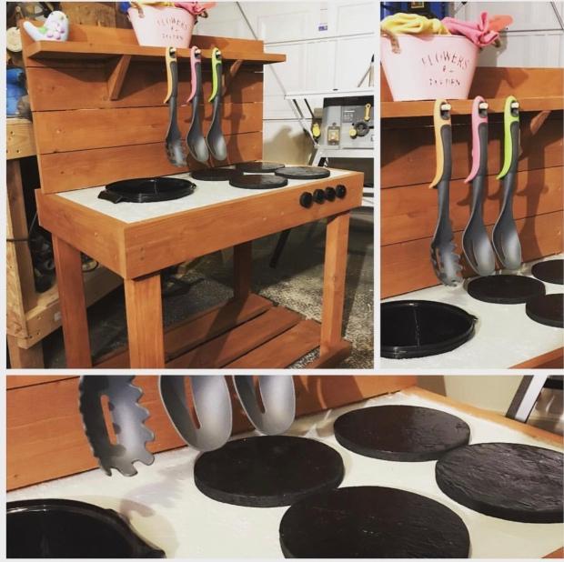Handmade Mud Kitchen