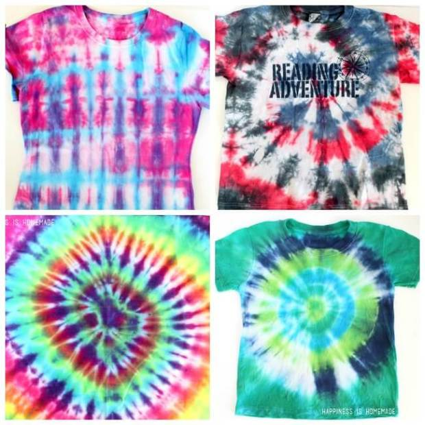 Tie-Dyed-Shirts